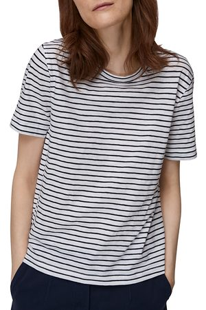 Whistles Emily Striped Tee