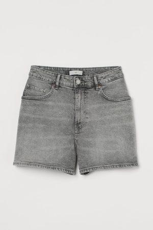 H&M Women Shorts - Denim Shorts High Waist