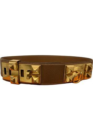 Hermès Collier de chien Leather Belt for Women