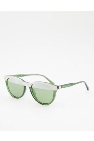 Calvin Klein CKJ10519S split color sunglasses