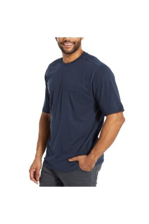 Wolverine Men Short Sleeve - Men's Knox Short Sleeve Tee Navy, Size L