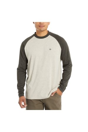 Wolverine Men's Brower Long Sleeve Tee Blac Olive Heather, Size L