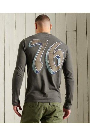 Superdry Men Long Sleeve - Boho Graphic Long Sleeve T-Shirt