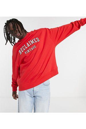 Reclaimed Vintage Inspired varsity sweatshirt in