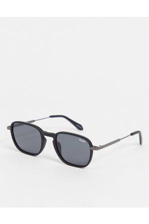 Quay Australia Quay Grounded unisex round sunglasses in
