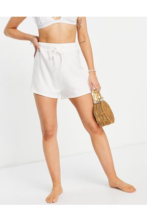 Rhythm Women Shorts - Josie knit beach coordinating shorts in