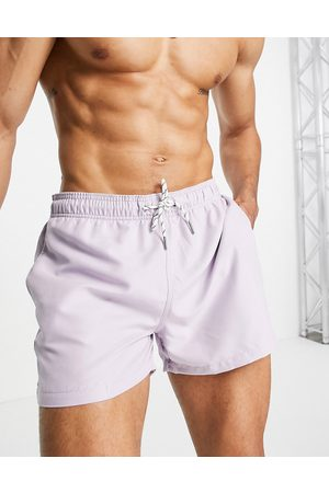 New Look Swim shorts in lilac