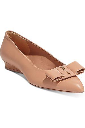 Salvatore Ferragamo Women Flat Shoes - Women's Viva Embellished Slip On Pumps