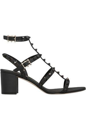 VALENTINO Women Heeled Sandals - Garavani - Rockstud heeled sandals