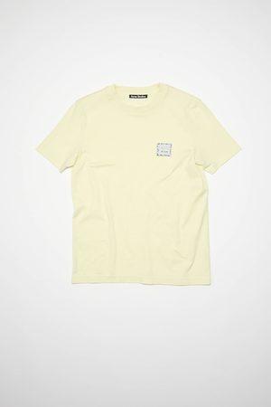 Acne Studios Women T-shirts - FA-UX-TSHI000082 Face patch t-shirt