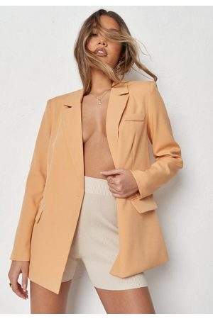 Missguided Co Ord Double Pocket Tailored Blazer