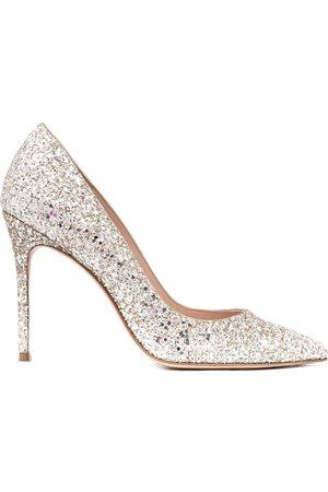 Sophia Webster Women High Heels - Glitter-detail pointed pumps