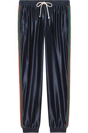 Gucci Men Sweatpants - Web-trim track pants