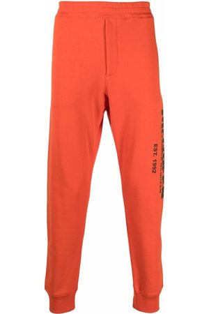 Alexander McQueen Men Sweatpants - Logo-print track pants