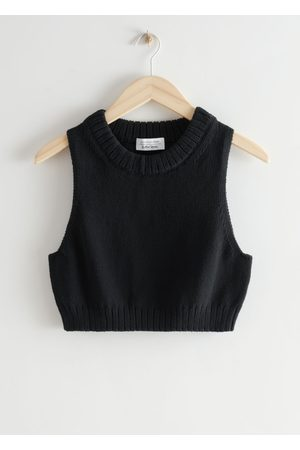 & OTHER STORIES Cropped Knit Top