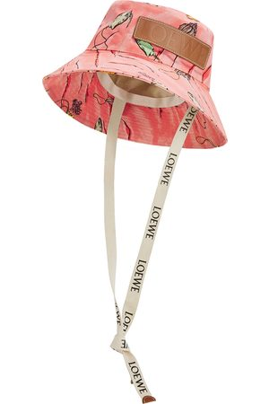 Loewe Women Hats - X Paula's Ibiza printed canvas bucket hat