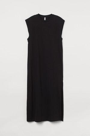 H&M Women Sleeveless Dresses - Sleeveless Cotton Dress