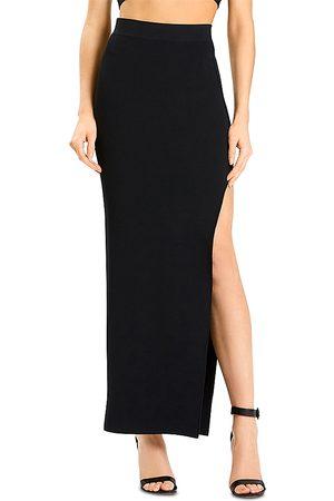 Hervé Léger Women Maxi Skirts - X Julia Restoin Roitfeld Side Slit Maxi Skirt