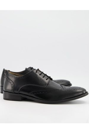 French Connection Leather formal brogue