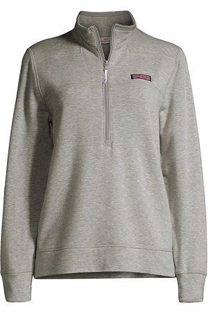 Vineyard Vines Women's Dreamcloth Relaxed Lounge Shirt - Light Grey Heather - Size XS