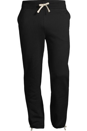 Polo Ralph Lauren Men's Fleece Drawstring Cuff Sweatpants - Polo - Size Medium