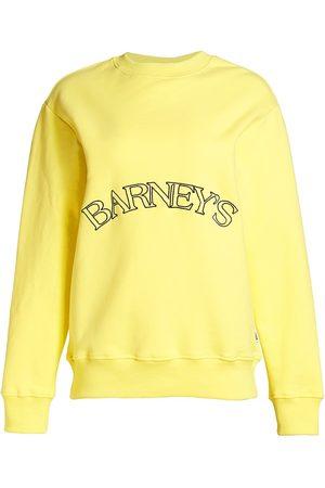 Krost Women's x Barney's Essential Crewneck Sweatshirt - - Size XS