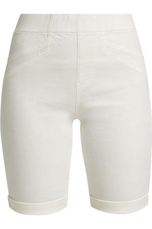 NIC+ZOE Women's Petite All Day Denim Shorts - Paper - Size Petite 2