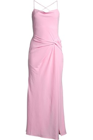 Significant Other Women's Marielle Spaghetti-Strap Twist-Front Dress - Blush - Size 6