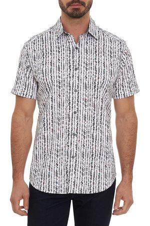Robert Graham Men's Hyper Short-Sleeve Shirt - - Size XL