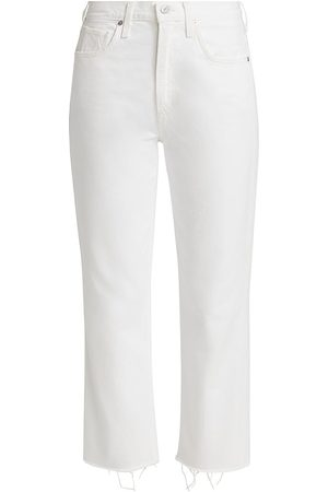 Citizens of Humanity Women's Daphne Cropped Jeans - Sail - Size 30