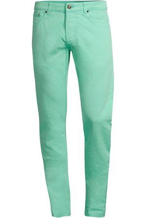 ISAIA Men's Gabardine Five-Pocket Pants - Open - Size 40
