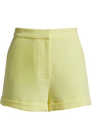 Cinq A Sept Women's Elaine Crepe Shorts - Rose - Size 10