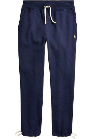 Polo Ralph Lauren Men's Fleece Drawstring Cuff Sweatpants - Cruise Navy - Size Large