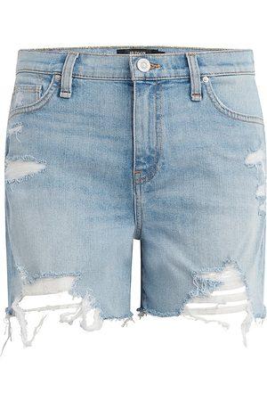 Hudson Women's Devon High-Rise Denim Shorts - Lift Me Up - Size 29