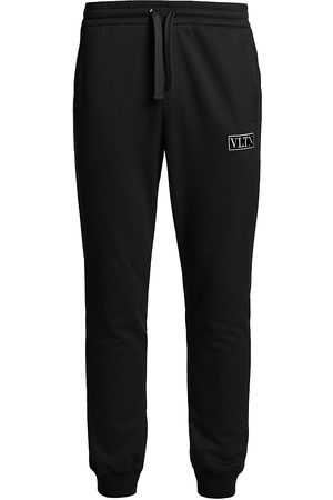 VALENTINO GARAVANI Men's VLTN Tag Sweatpants - Nero - Size Large