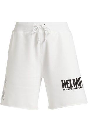 Helmut Lang Women's Made Me Shorts - - Size Medium