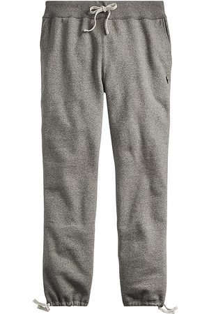Polo Ralph Lauren Men's Fleece Drawstring Cuff Sweatpants - Alaskan Heather - Size XXL
