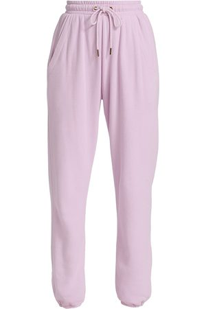 Citizens of Humanity Women's Laila Fleece Pants - Lavender - Size Large