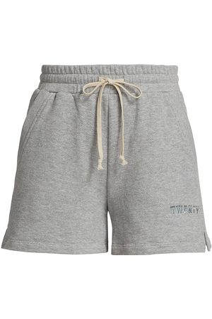 twenty Women's Sunnyside Jogger Shorts - Heather Grey - Size XL