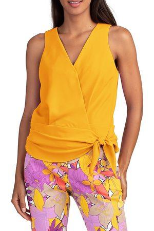 Trina Turk Women's Impatiens Tailored Blouse - Mimosa - Size XL