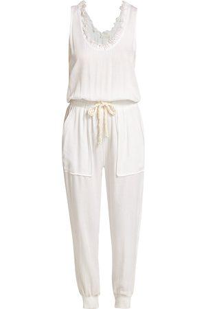 Ramy Brook Women's Ray Jumpsuit - Ivory - Size XL