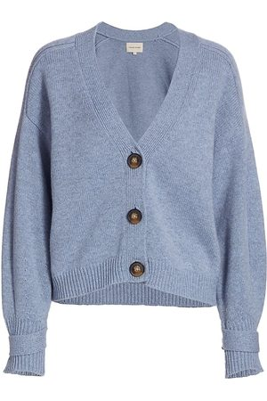 Loulou Studio Women's V-Neck Cardigan - Melange - Size Large