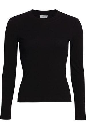 ROSETTA GETTY Women's Long-Sleeve T-Shirt - - Size XS
