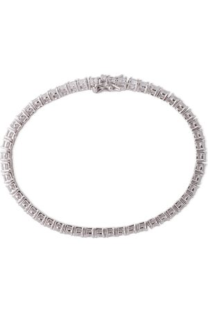 Kenneth Jay Lane Women Bracelets - Woman Silver-tone Crystal Bracelet Size