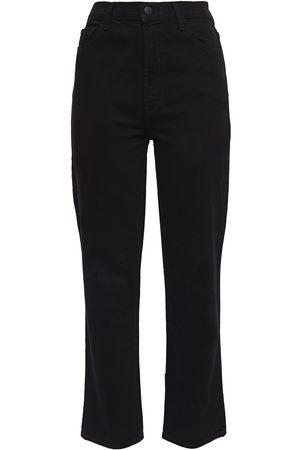J Brand Woman Jules High-rise Straight-leg Jeans Size 24