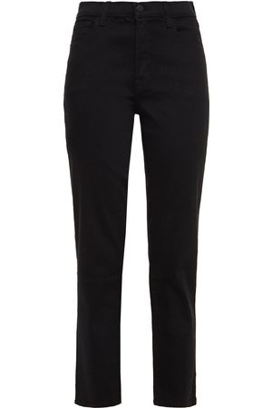 J Brand Woman Adele Cropped Mid-rise Straight-leg Jeans Size 28