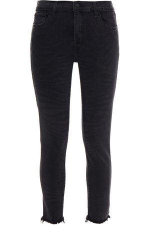 J Brand Woman 835 Cropped Mid-rise Skinny Jeans Size 24