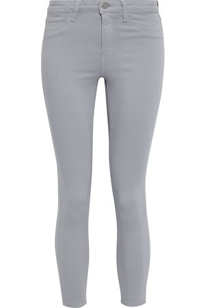 L'Agence Woman Margot Cropped High-rise Skinny Jeans Size 23