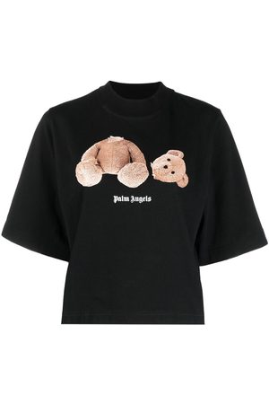 Palm Angels Bear cropped T-shirt