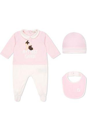 Fendi Logo-print pyjama set